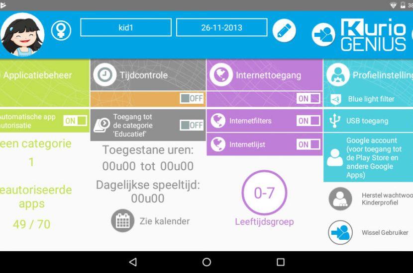 De ideale tablet voor je kinderen: de tablet van Kurio-Store